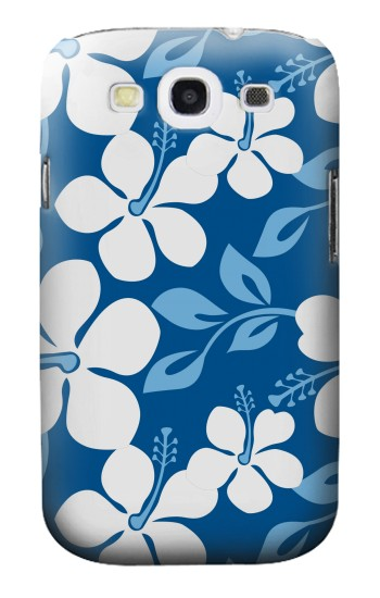 Printed Hawaii Blue Pattern Samsung Galaxy S3 Case