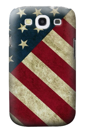 Printed US National Flag Samsung Galaxy S3 Case