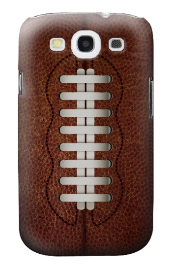Printed Leather Vintage Football Samsung Galaxy S3 Case