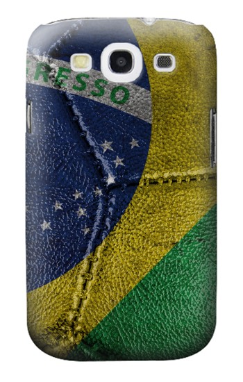 Printed Brazil Flag Vintage Football 2018 Samsung Galaxy S3 Case