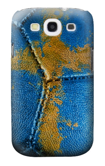 Printed Sweden Flag Vintage Football 2018 Samsung Galaxy S3 Case