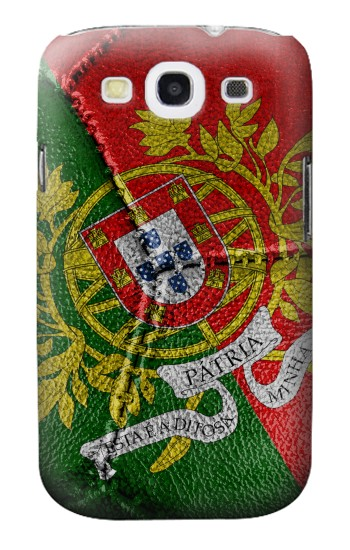 Printed Portugal Flag Vintage Football 2018 Samsung Galaxy S3 Case