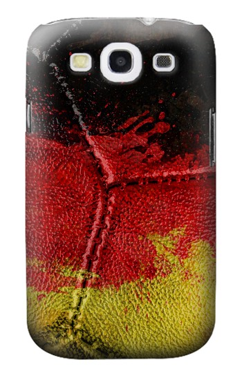 Printed Germany Flag Vintage Football 2018 Samsung Galaxy S3 Case