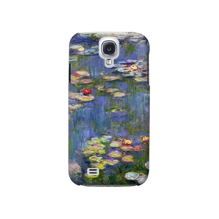 Printed Claude Monet Water Lilies Samsung Galaxy S4 Case