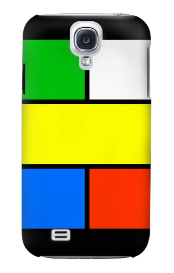 Printed Color Puzzle Printed Samsung Galaxy S4 Case