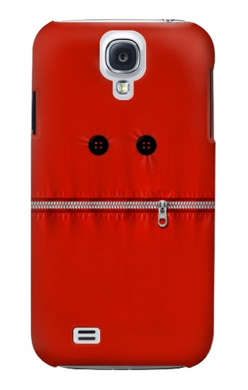 Printed Red Zipped Mount Funny Graphic Printed Samsung Galaxy S4 Case