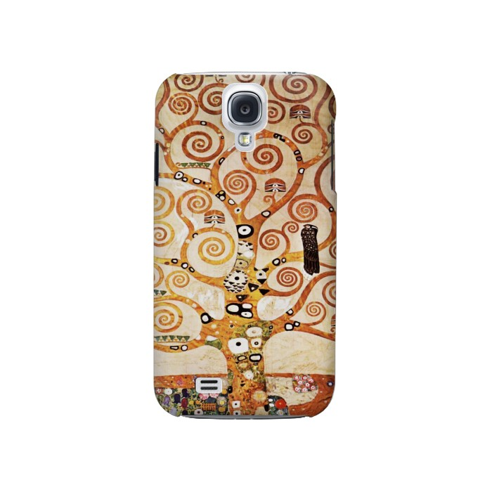 Printed The Tree of Life Gustav Klimt Samsung Galaxy S4 Case
