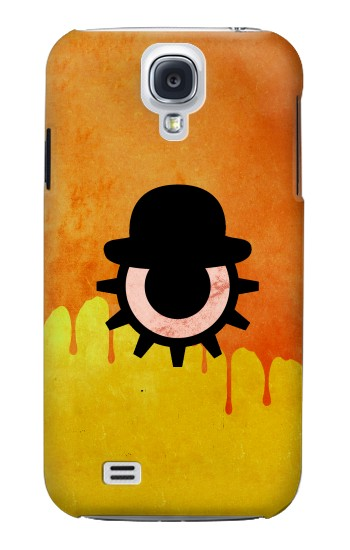 Printed Clockwork Orange Blood Dripping Samsung Galaxy S4 Case