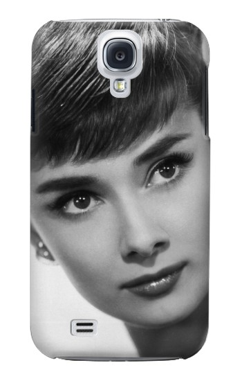 Printed Audrey Hepburn Short Hair Samsung Galaxy S4 Case