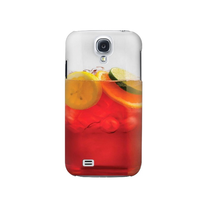 Printed Punch Cocktail Drink Fruit Glass Samsung Galaxy S4 Case
