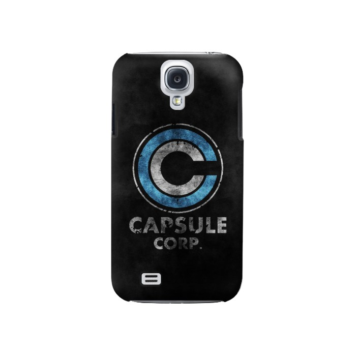 Printed Dragonball Capsule Corp Symbol Samsung Galaxy S4 Case