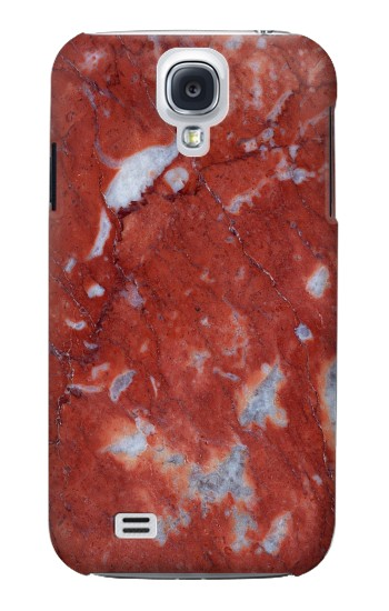 Printed Red Marble Stone Texture Printed Samsung Galaxy S4 Case
