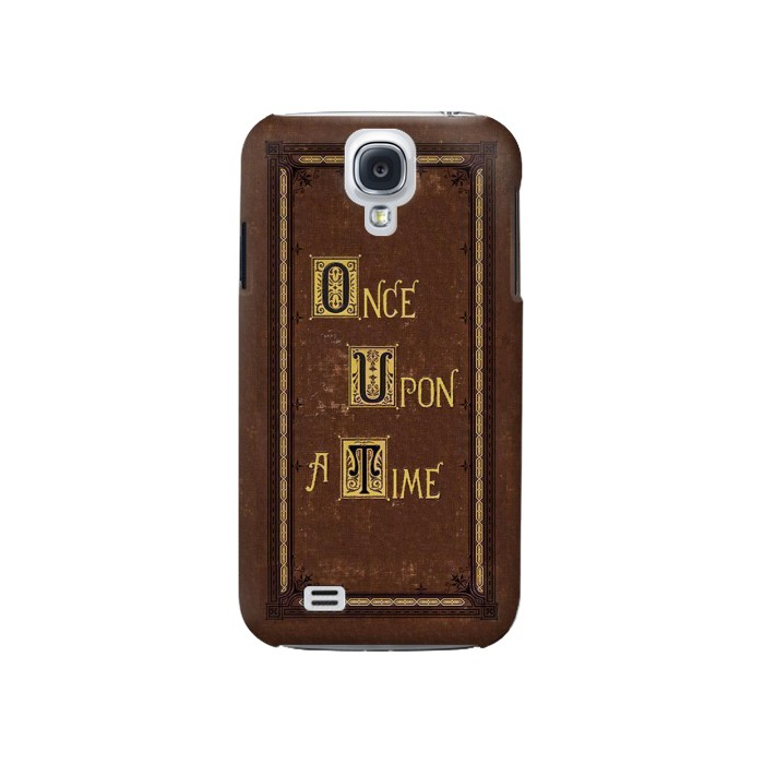 Printed Once Upon a Time Book Cover Samsung Galaxy S4 Case