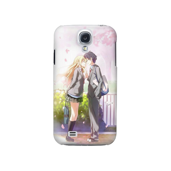 Printed Shigatsu wa Kimi no Uso Your Lie in April Kousei Kaori Samsung Galaxy S4 Case