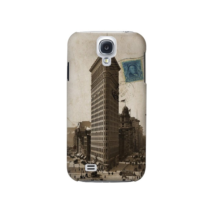 Printed New York 1903 Flatiron Building Postcard Samsung Galaxy S4 Case