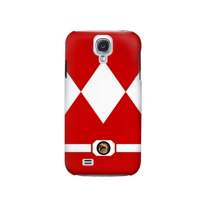 Printed Mighty Morphin Power Ranger Minimalist Samsung Galaxy S4 Case