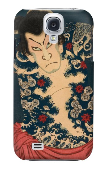 Printed Toyohara Kunichika The Aabuki Actor Samsung Galaxy S4 Case