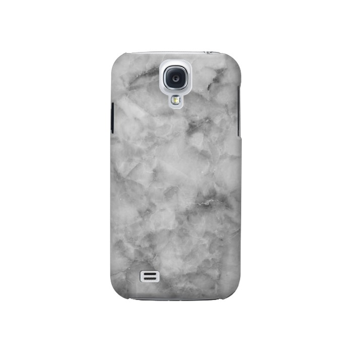 Printed Gray Marble Texture Samsung Galaxy S4 Case