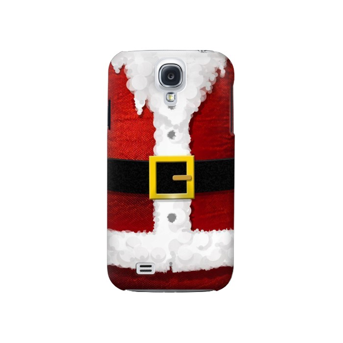 Printed Christmas Santa Red Suit Samsung Galaxy S4 Case