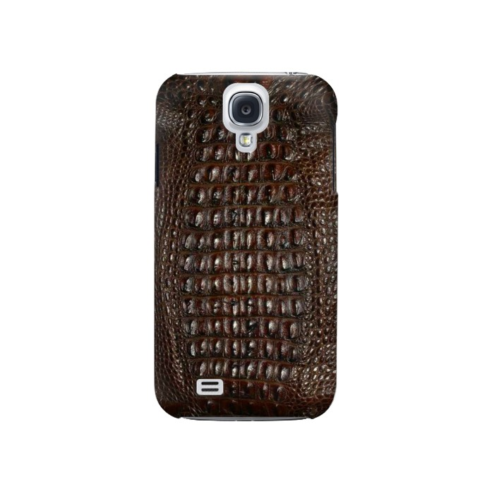 Printed Brown Skin Alligator Graphic Printed Samsung Galaxy S4 Case
