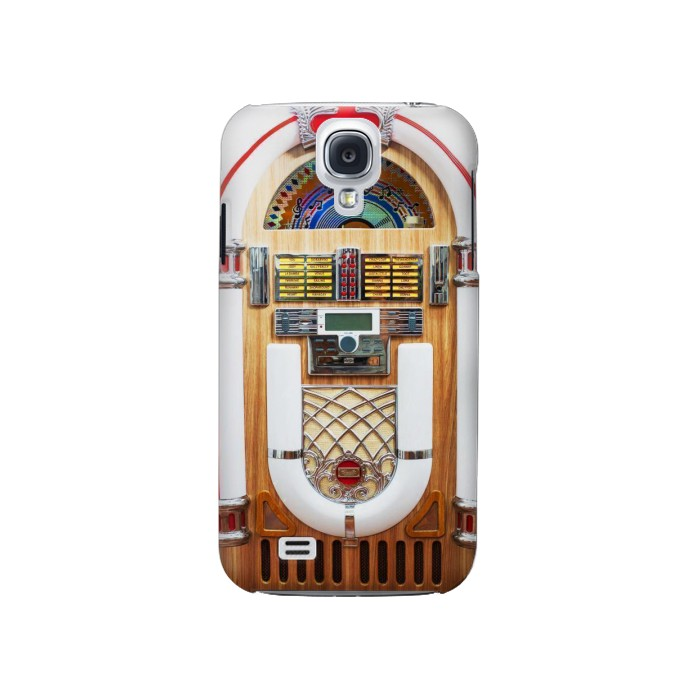 Printed Jukebox Music Playing Device Samsung Galaxy S4 Case