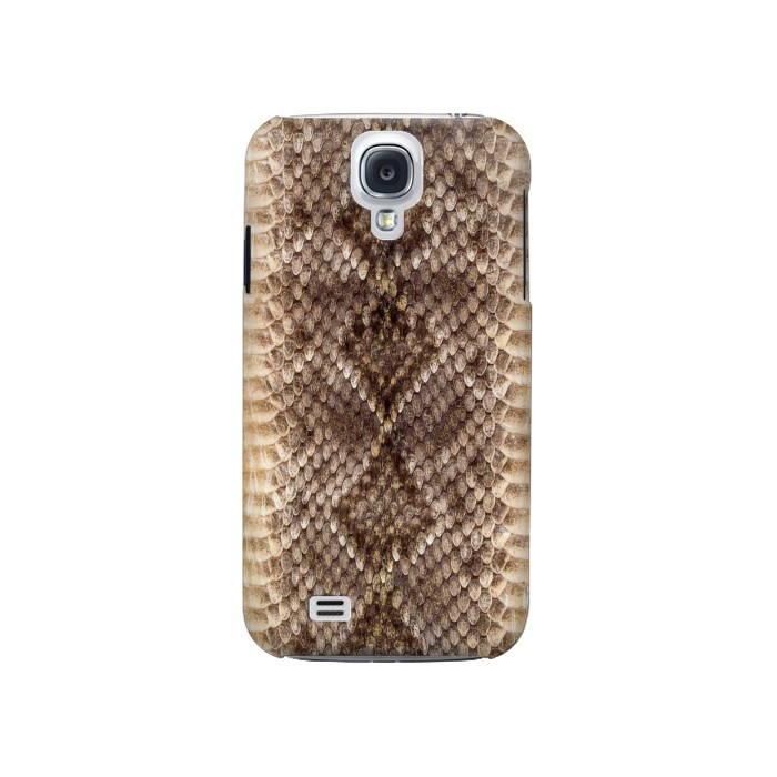 Printed Rattle Snake Skin Samsung Galaxy S4 Case