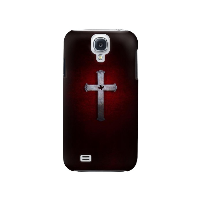 Printed Christian Cross Samsung Galaxy S4 Case