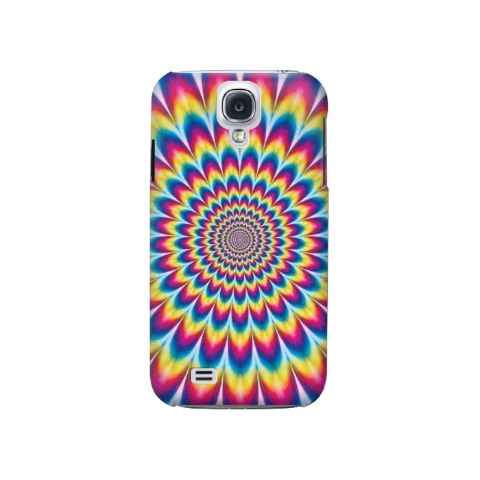 Printed Colorful Psychedelic Samsung Galaxy S4 Case