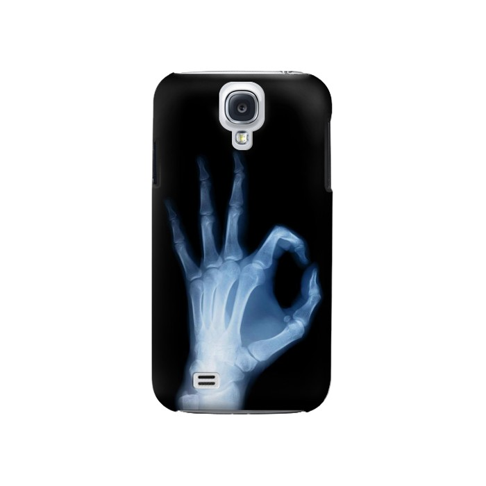 Printed X-Ray Hand Sign OK Samsung Galaxy S4 Case