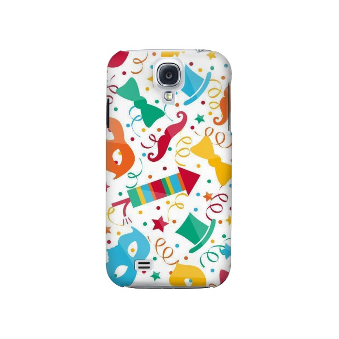 Printed Carnival Pattern Samsung Galaxy S4 Case