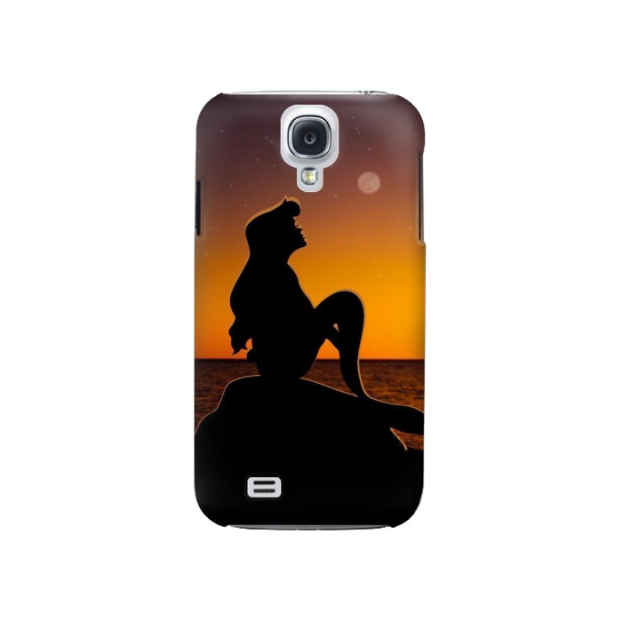 Printed Mermaid Sunset Samsung Galaxy S4 Case