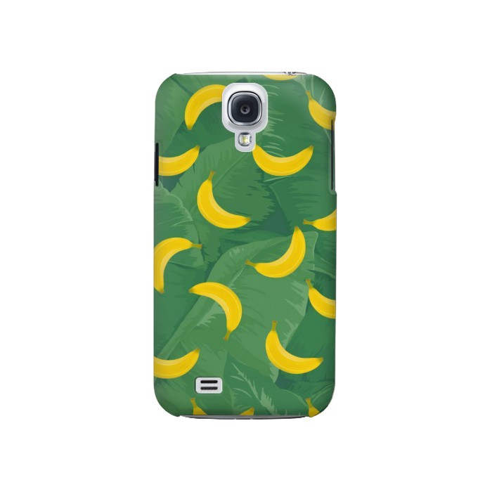 Printed Banana Fruit Pattern Samsung Galaxy S4 Case