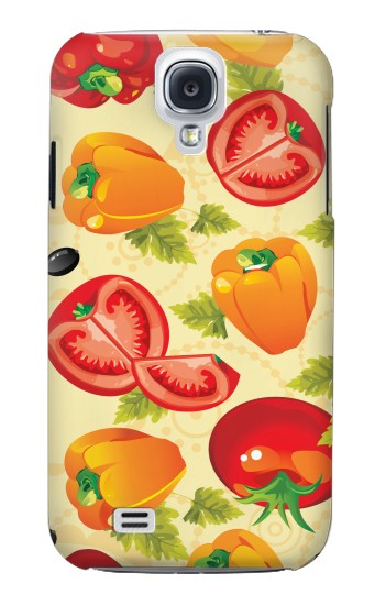 Printed Seamless Food Vegetable Samsung Galaxy S4 Case