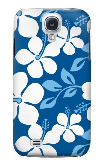 Printed Hawaii Blue Pattern Samsung Galaxy S4 Case
