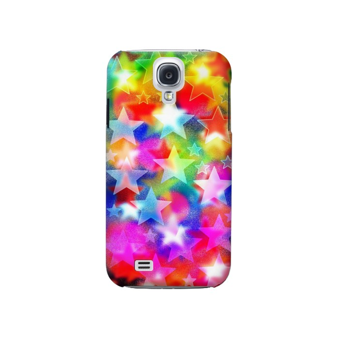 Printed Colourful Disco Star Samsung Galaxy S4 Case