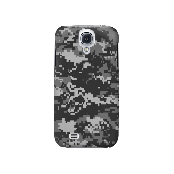 Printed Urban Black Camouflage Samsung Galaxy S4 Case