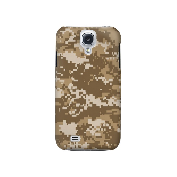 Printed Army Camo Tan Samsung Galaxy S4 Case