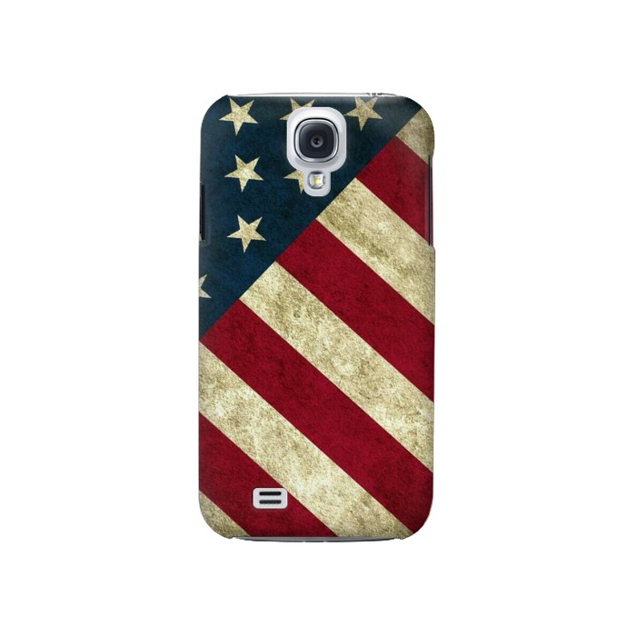 Printed US National Flag Samsung Galaxy S4 Case