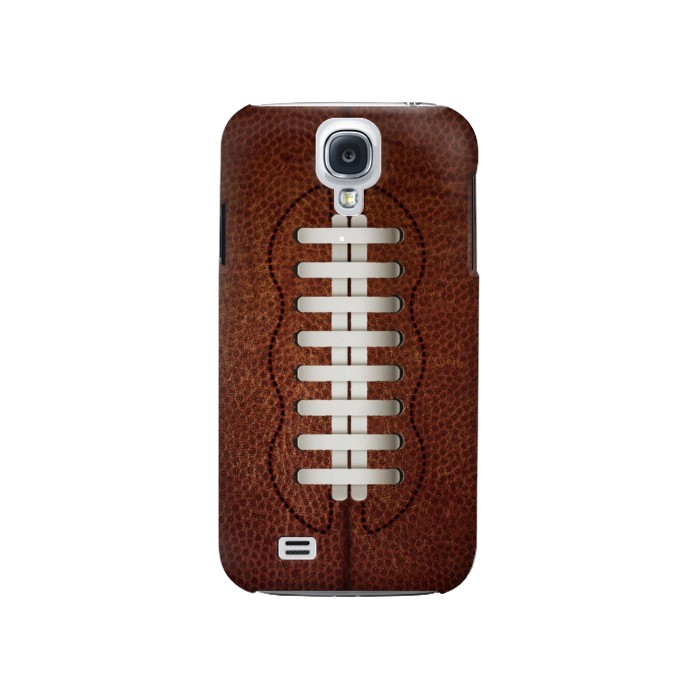 Printed Leather Vintage Football Samsung Galaxy S4 Case
