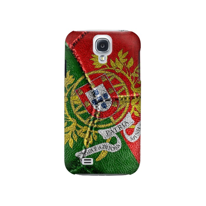 Printed Portugal Flag Vintage Football 2018 Samsung Galaxy S4 Case