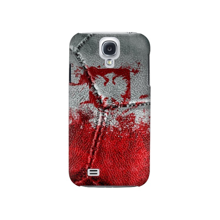 Printed Poland Flag Vintage Football 2018 Samsung Galaxy S4 Case