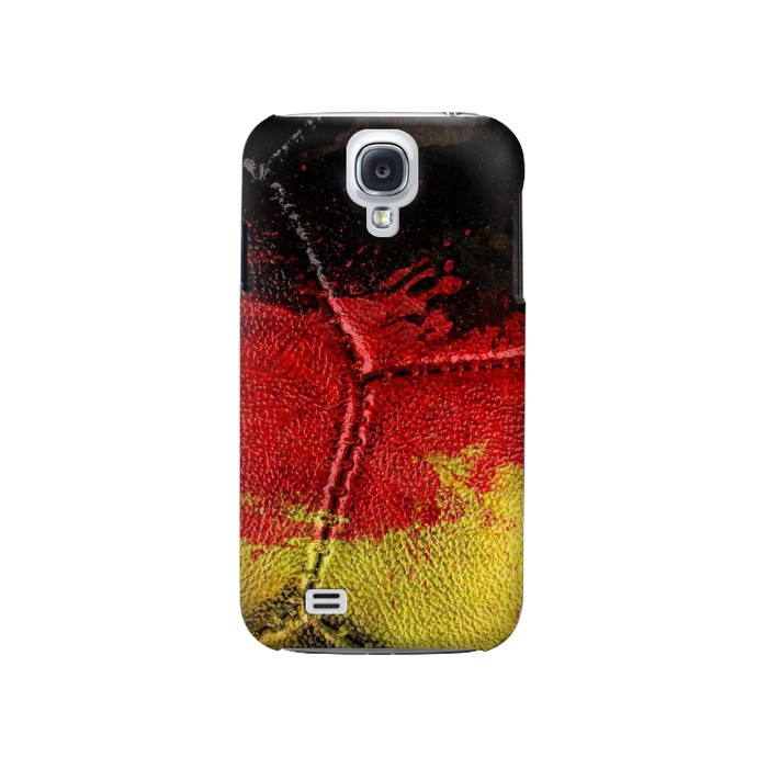 Printed Germany Flag Vintage Football 2018 Samsung Galaxy S4 Case