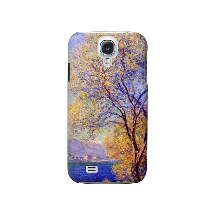 Printed Claude Monet Antibes Seen from the Salis Gardens Samsung Galaxy S4 Case