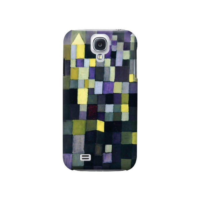 Printed Paul Klee Architecture Samsung Galaxy S4 Case