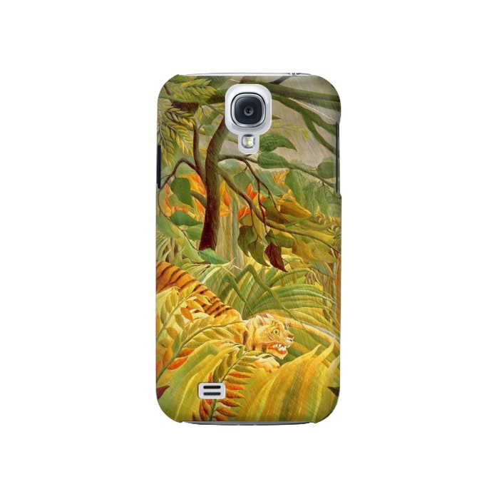 Printed Henri Rousseau Tiger in a Tropical Storm Samsung Galaxy S4 Case