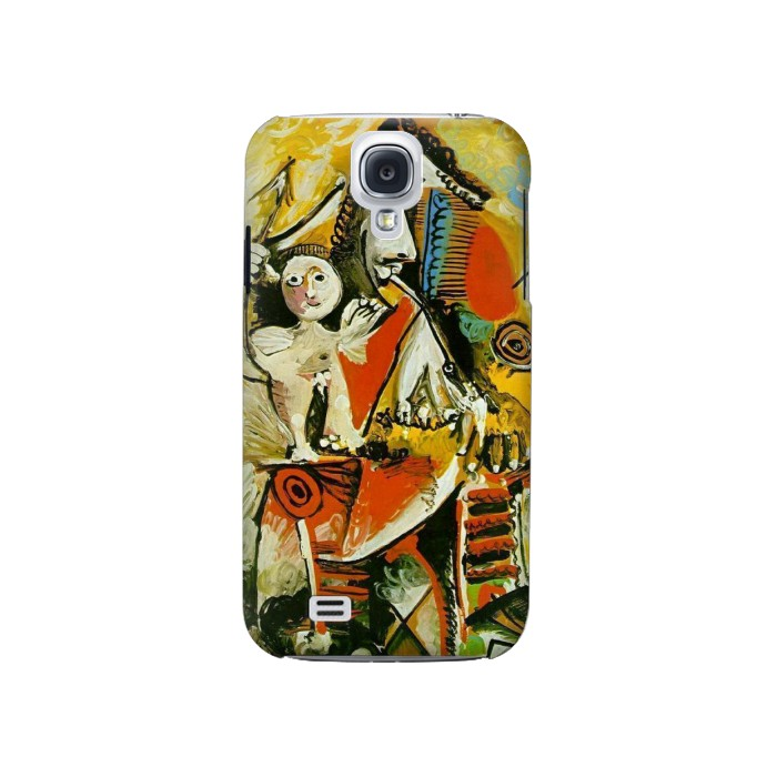 Printed Picasso Painting Cubism Samsung Galaxy S4 Case