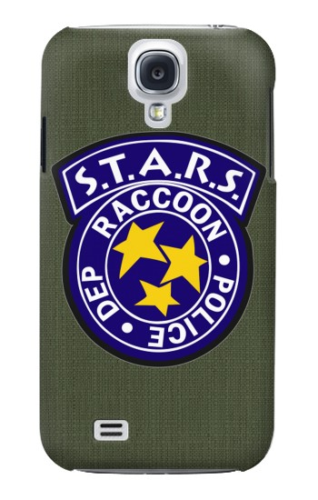 Printed Resident Evil Star Badge Chris Outfit Samsung Galaxy S4 Case
