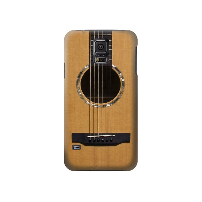 Printed Acoustic Guitar Samsung Galaxy S5 Case