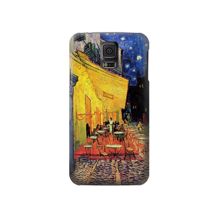 Printed Van Gogh Cafe Terrace Samsung Galaxy S5 Case