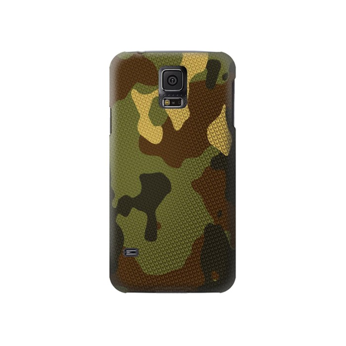 Printed Camo Camouflage Graphic Printed Samsung Galaxy S5 Case